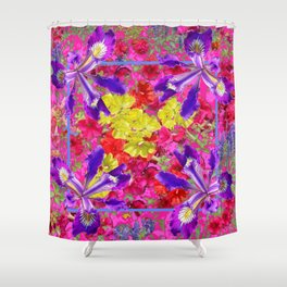 Awesome Spring Floral Garden Nature Art Shower Curtain