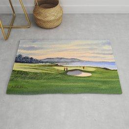 Pebble Beach Golf Course 9th Green Rug