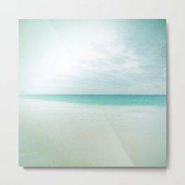 Serenity Ocean Photography Art Print Metal Print