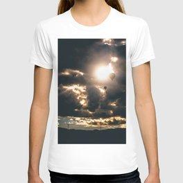 Albuquerque Hot Air Balloon Sunrise T-shirt