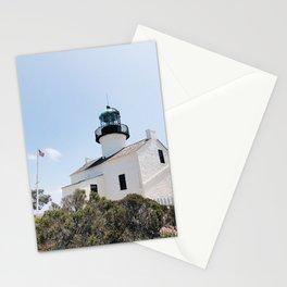 Old Point Loma Lighthouse - I Stationery Cards