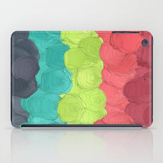 Paper Flowers In Bloom #2 iPad Case