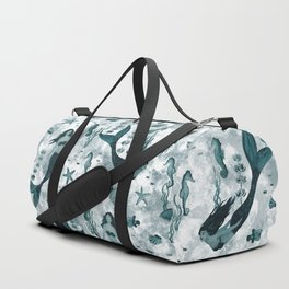 Under the Sea (Teal) Part 2 Duffle Bag