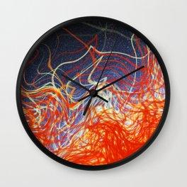 Atmospheric Chaos Wall Clock