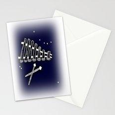 Space Marimba Stationery Cards