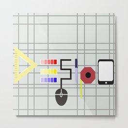 Design Metal Print
