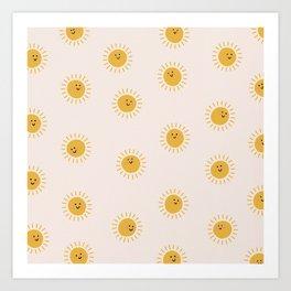 Happy Sunshine Art Print