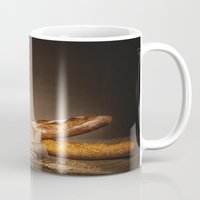 bread Mugs featuring Bread. by Alexey & Julia