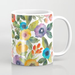 Scattered Poppies Coffee Mug