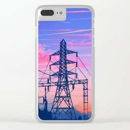 Evening Hour Clear iPhone Case