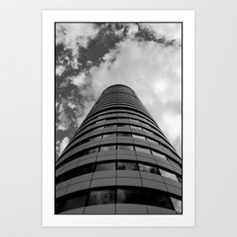 Keep Your Aim High (Bridgewater Place) Art Print