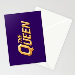 The Queen Full Logo Stationery Cards