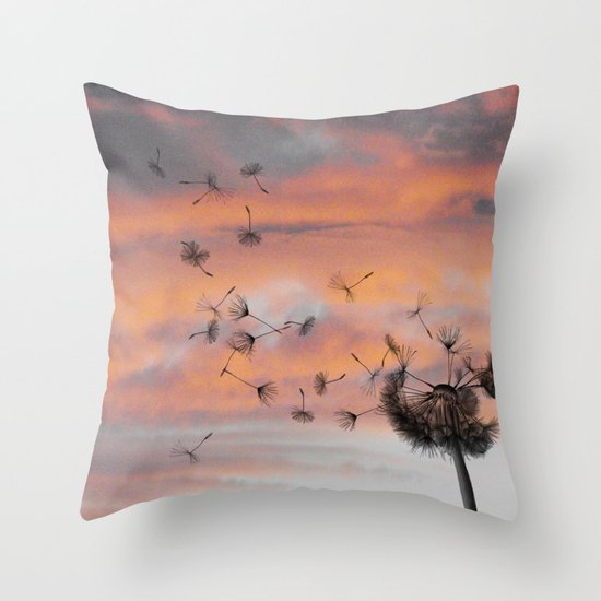 And the days went by Throw Pillow