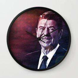 President Ronald Reagan Wall Clock