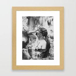 Irène Framed Art Print