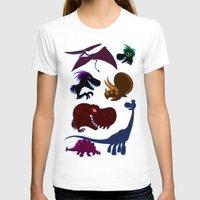 cartoons T-shirts featuring Dinosaur Cartoons by Cartoonasaurus