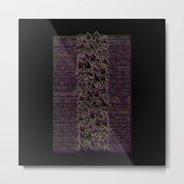 Furr Division Glitch Metal Print