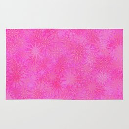 Cotton Candy Winter Rug