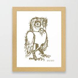 Bubo Framed Art Print