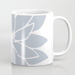 Flower Bluebell Blue on White Coffee Mug