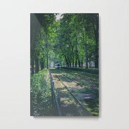 Polish Tram. Metal Print