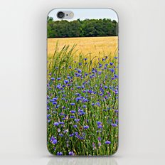 Field of Blue iPhone & iPod Skin