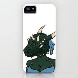 Lusty argonian maiden iPhone Case