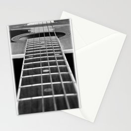 Guitar Gently Weeps Stationery Cards