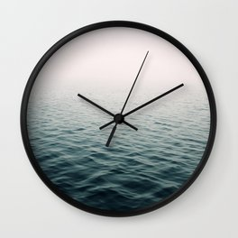 Lost In The Fog Wall Clock