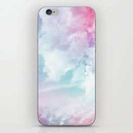 Cotton Candy Sky iPhone Skin