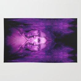 Hemispheres - reloaded - purple Rug