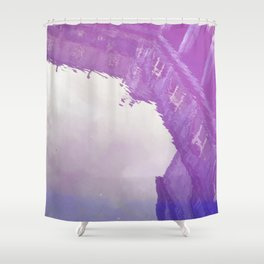 Curses: Purple Haze Shower Curtain