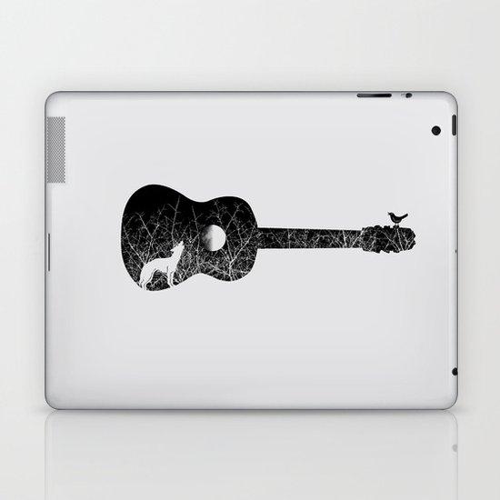 Night sounds Laptop & iPad Skin