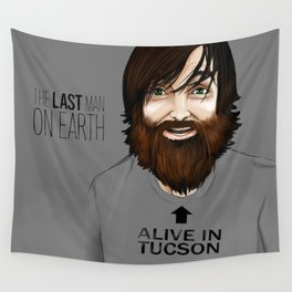 The Last man on Earth Wall Tapestry