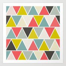 Triangulum Art Print