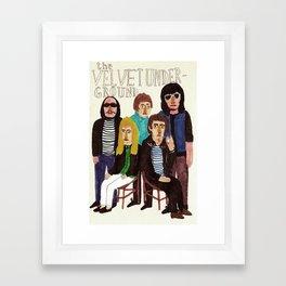 The Velvet Underground Framed Art Print