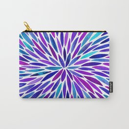 Lavender Burst Carry-All Pouch