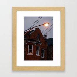 Bridgeport at Twilight Framed Art Print