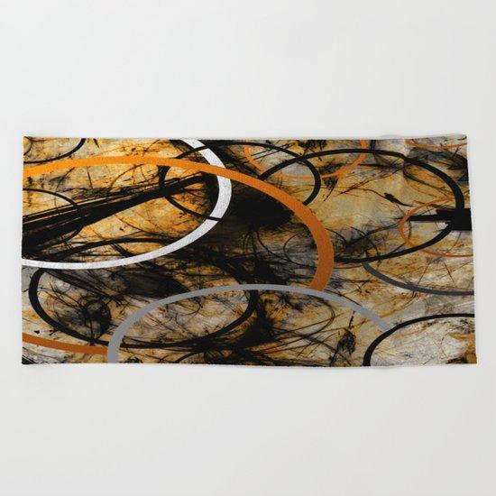 Rustic Hypnosis Beach Towel