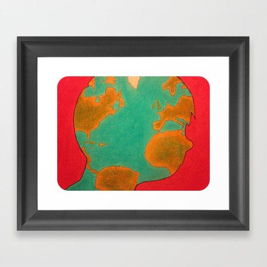 """""""The Hidden World Within"""" Framed Art Print"""