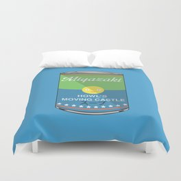 Howl's moving castle - Miyazaki - Special Soup Series  Duvet Cover