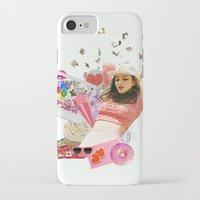 charli xcx iPhone & iPod Cases featuring Charli XCX by Kat Heroine
