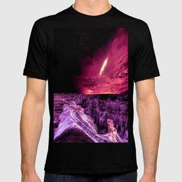 Galaxy Mountains  T-shirt