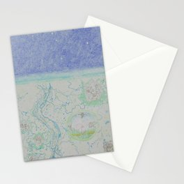 Trail to the stars Stationery Cards