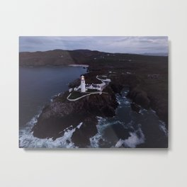 Lighthouse Ireland Metal Print