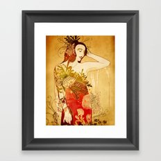 Wormwood Framed Art Print