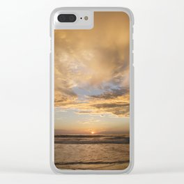 Ecuador Sunset Clear iPhone Case