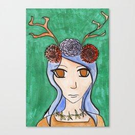 Fawn 3 Canvas Print