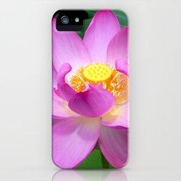 Lotus Vivid iPhone Case