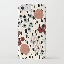 Cheetah Floral iPhone Case